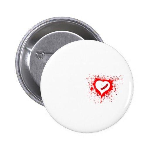 Grunge pequeño Hearted quebrado de la alternativa  Pin