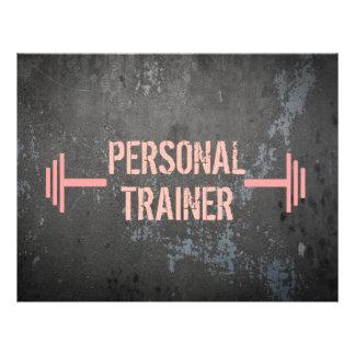 Grunge Personal Trainer Flyer