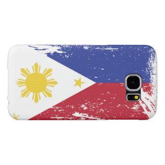 Grunge Philippines Flag Samsung Galaxy S6 Cases