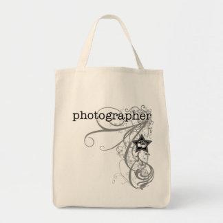 Grunge Photographer Tote Bag
