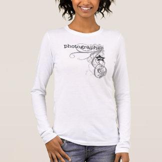 Grunge Photographer Long Sleeve T-Shirt