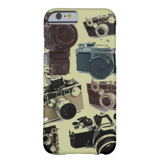 Grunge photographer photography Vintage Camera Barely There iPhone 6 Case