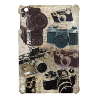 Grunge photographer photography Vintage Camera Cover For The iPad Mini