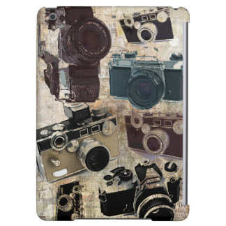 Grunge photographer photography Vintage Camera iPad Air Case