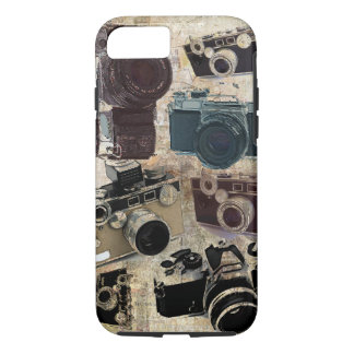Grunge photographer photography Vintage Camera iPhone 7 Case