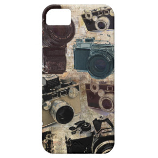 Grunge photographer photography Vintage Camera iPhone SE/5/5s Case