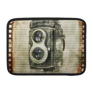 Grunge photographer photography Vintage Camera MacBook Sleeve
