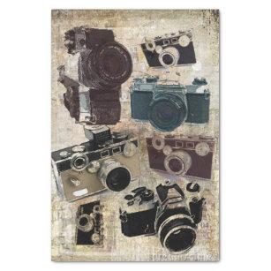 Grunge photographer photography Vintage Camera Tissue Paper