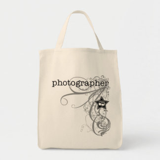 Grunge Photographer Tote Bag