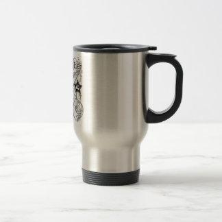 Grunge Photographer Travel Mug
