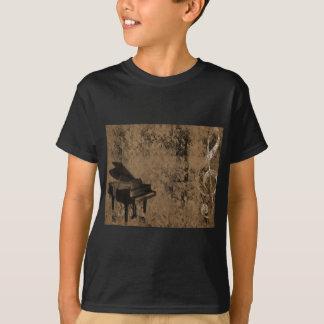 Grunge Piano T-Shirt