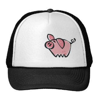 Grunge Pig Trucker Hat