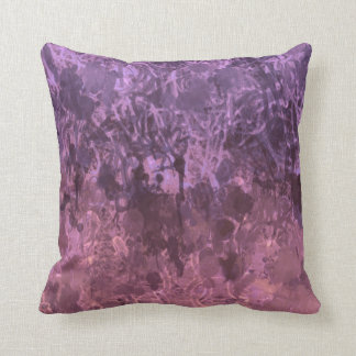 """""""Grunge"""" pillow in purple/pink. Definitely chaotic"""