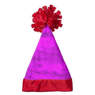 Grunge,pink Santa Hat