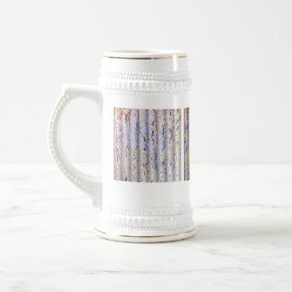 Grunge pintado de la lata jarra de cerveza