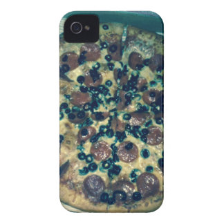 Grunge pizza apparel and items iPhone 4 case