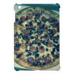 Grunge pizza apparel and items iPad mini covers