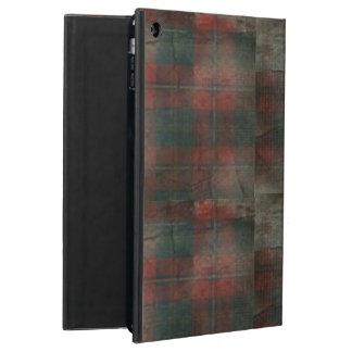 Grunge Plaid iPad Air case (with kickstand!)