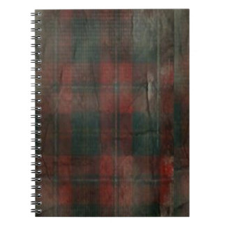 """""""Grunge Plaid"""" Photo Notebook (80 Pages B&W)"""