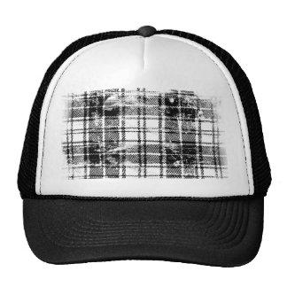 Grunge Plaid Trucker Hat