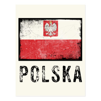 Grunge Polska Postcard