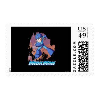 Grunge Postage Stamp