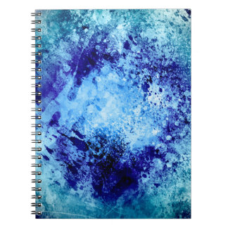 Grunge Print Notebook
