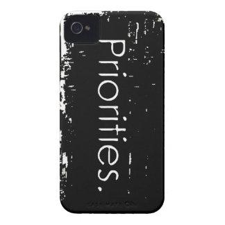 Grunge Priorities iPhone 4 Case