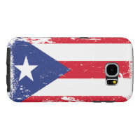 Grunge Puerto Rico Flag Samsung Galaxy S6 Case