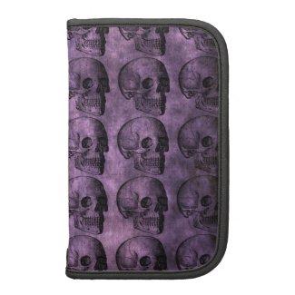 grunge Purple Skulls rickshawfolio