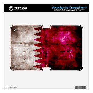 Grunge Qatar Flag WD My Passport Skin