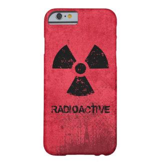 Grunge radiactivo del Selecto-UNO-Color Funda Para iPhone 6 Barely There
