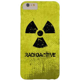 Grunge radiactivo del Selecto-UNO-Color Funda Para iPhone 6 Plus Barely There