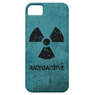 Grunge radiactivo del Selecto-UNO-Color iPhone 5 Carcasas
