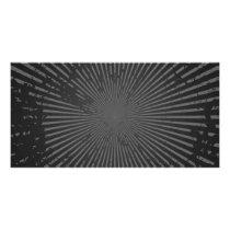 Grunge Radial Pattern: Custom Template