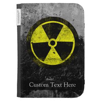 Grunge Radioactive Symbol Kindle Case