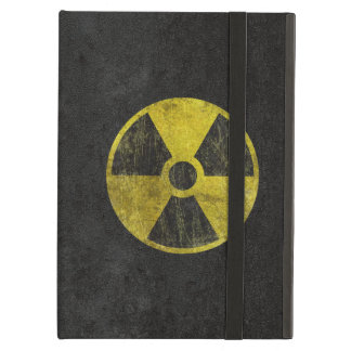 Grunge Radioactive Symbol Case For iPad Air