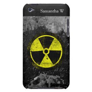 Grunge Radioactive Symbol Case-Mate iPod Touch Case