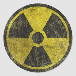 Sticker 5 results - Radioactive Symbol Gifts On Zazzle