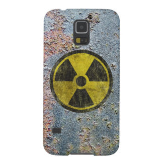 Grunge Radioactive Symbol Galaxy S5 Cover