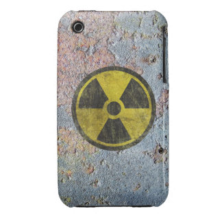 Grunge Radioactive Symbol iPhone 3 Cover