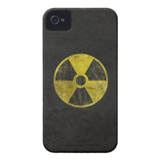 Grunge Radioactive Symbol iPhone 4 Case
