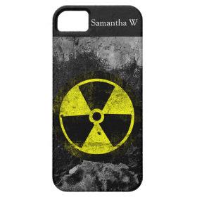 Grunge Radioactive Symbol iPhone 5 Cases
