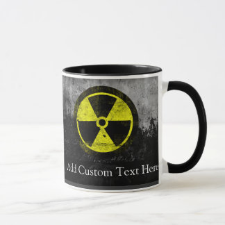 Grunge Radioactive Symbol Mug