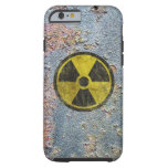 Grunge Radioactive Symbol Tough iPhone 6 Case