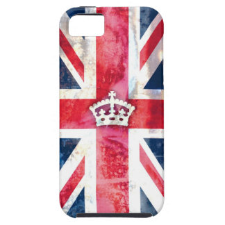 Grunge real de la bandera de 311 Británicos iPhone 5 Cárcasa