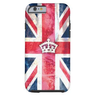 Grunge real de la bandera de 311 Británicos Funda Resistente iPhone 6