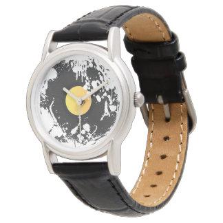 Grunge Record Wrist Watch