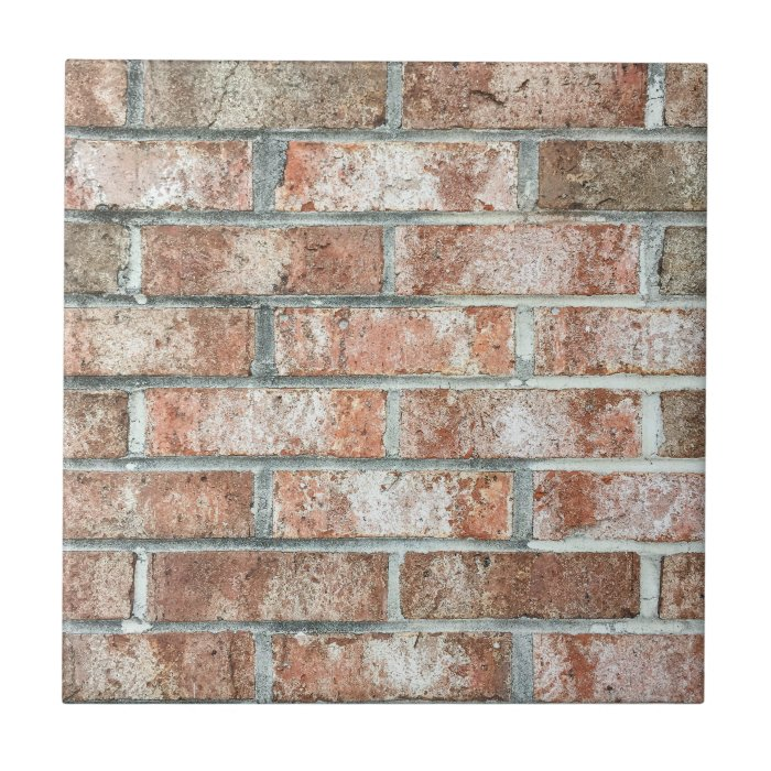 Grunge Red Brick Wall Brown Bricks Background Tan Ceramic