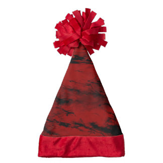 Grunge,red Santa Hat